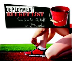When a spouse is deployed, it can be a great time to knock out goals with a deployment bucket list. Not only can the list keep you busy, it can be fun too.