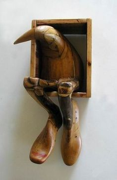 amazing carved bird