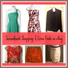Guide to Secondhand Shopping: J.Crew on eBay