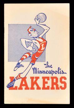 vintage Lakers
