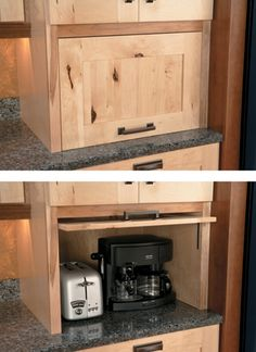 Now you see it, now you dont! Hide those countertop appliances behind ...
