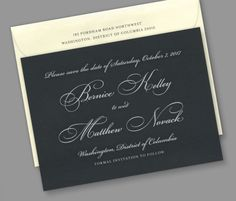 Kleinfeld Paper || Unity Save-the-Date