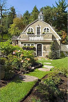 Happy Hollow: A Gambrel-Style House, this is its Guest Cottage