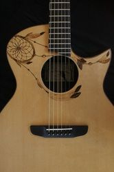 Guitar by Zachary Schryer-Lefebvre, Treehouse Guitars