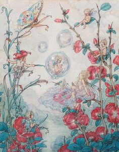 Harold Gaze - Fairies and Bubbles- 1945