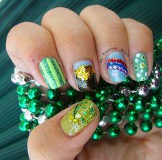 St Patrick's Inspired by RndomStashNails - Nail Art Gallery nailartgallery.nailsmag.com by Nails Magazine www.nailsmag.com #nailart