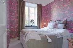 Not my usual taste. But a pretty room!