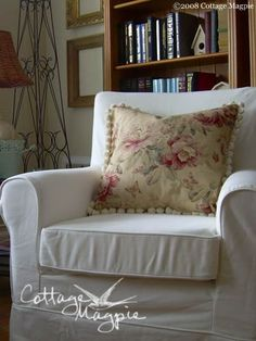 How to make pillow slip covers