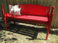 Red Bench.