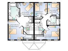 House Plans On Pinterest Duplex Design Full Bath And