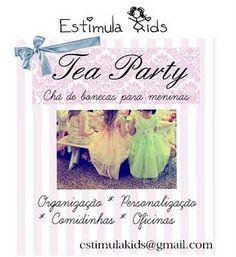 Chá de bonecas no estilo Estimula Kids