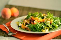 corn and peach salad 1