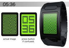 Kisai Optical Illusion Touchscreen Watch