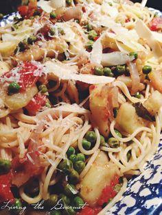 Spagehtti with Fresh Zucchini