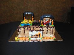 Grooms Cake-Tough Mudder Inspired. We got engaged on 10.11.12 and ...