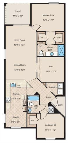 Colonade floor plan