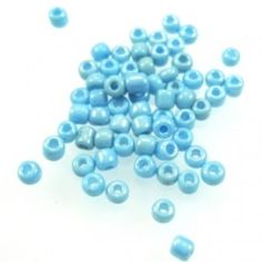 Turquoise Blue Glass Seed Beads - 15g - Spoil Me Silly Jewellery