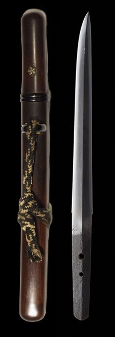 Japanese short sword, Tanto, dated 1511 #Weapons