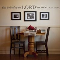 This Is the Day - Vinyl Wall Art image