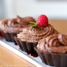 Chocolate Mousse-no eggs recipe