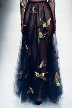 Valentino f/w 2014 - I love this skirt immensely.