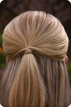 sweet and simple hair
