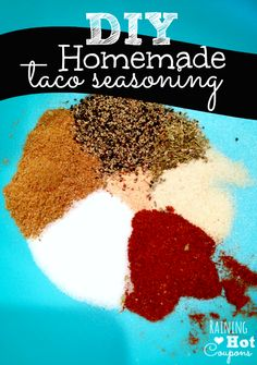 Homemade Taco Seasoning Recipe - Super Good!