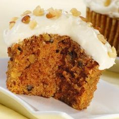 Recipe For Healthy Carrot Cake Cupcakes...