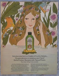 1972 Clairol Herbal Essence Shampoo Ad by ZestDuz, via Flickr
