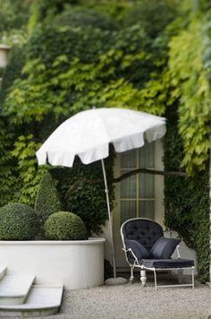 Iron Lounge Chair