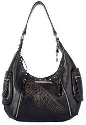Harley-Davidson Punk Collection - Distressed Wing Hobo Handbag - I want one!