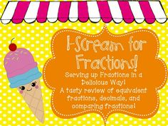Math on Pinterest | Fractions, Equivalent Fractions and Word Problems