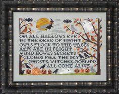 Halloween - Cross Stitch Patterns & Kits (Page 3)