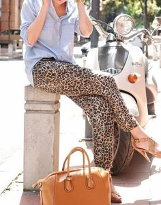 Leopard prints.