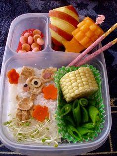 Way fun. #bento, #lunch, #lunchbox #EasyLunchboxes
