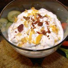 Cheddar Ranch Dip Allrecipes.com