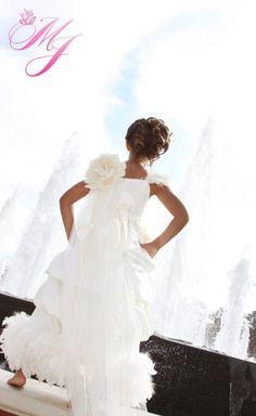 Ivory Dreams Flower Girl Dress