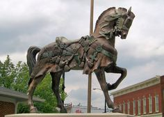 Carousel Statue, Richland Carrousel Park, Mansfield, Ohio (by Jean Bennett)