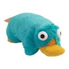 Perry the Platypus Pillow Pet - must have! :D