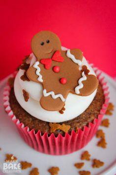 gingerbread boy, cupcak smile, gingerbread cooki, cupcak time, cupcak obsess, gingerbread man, christma, gingerbread oreo, oreo cupcakes