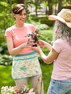 Thinking about hosting a garden swap party....that way if I move...I have a garden of friends from Indiana to take with me...