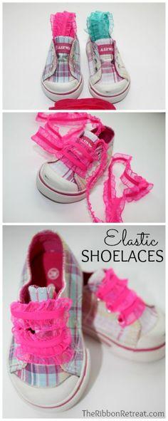 Elastic Shoelaces - The Ribbon Retreat Blog