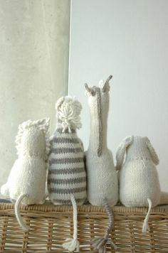 Gray + Stuffed Animals