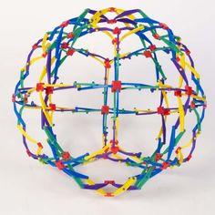 Only 90's kids... Hoberman Expanding Mini Sphere Toy