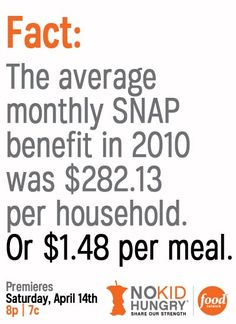 SNAP: just a diversion from the real problem, your government overspending on the military, protecting the super rich and ruining the environment.