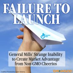 General Mills spent a year reformulated original Cheerios to get the GMOs out. If they want to see marketplace advantage for this important move they need to take steps to promote this achievement to consumers and provide the assurances of third-party verification so that consumers know the achievement is real. Read more: www.gmoinside.org/failure-launch-general-mills-strange-inability-create-market-advantage-non-gmo-cheerios-todd-larsen #GMOs #nonGMO #GMOCheerios