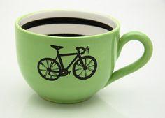 coffee lovers, bicycles, bike, coffee cafe, morning coffee, coffee cups, cup of coffee, tea, mugs