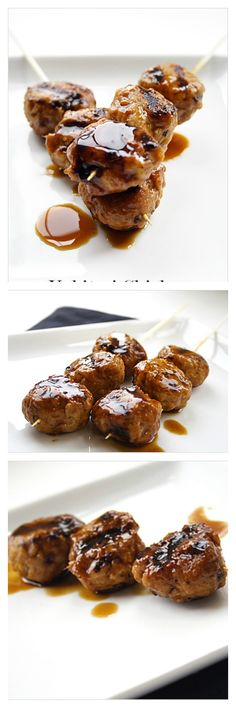 Teriyaki Chicken Meat Balls. Juicy and yummylicious meat balls with ...