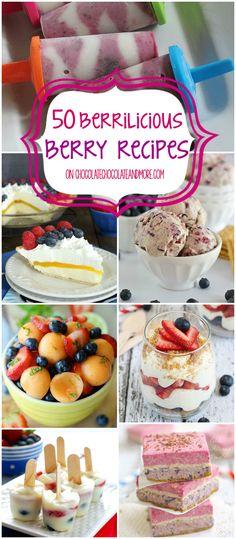 50 Berrilicious Berry Recipes
