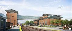 Dearborn's new Intermodal Rail Station